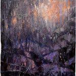 Digitalt Grafisk Arbeid av kunstner Fritz Helge Nyegaard - tittel: Av natt av jord
