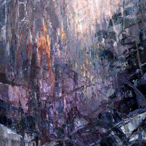 Digitalt Grafisk Arbeid av kunstner Fritz Helge Nyegaard - tittel: Forvitring