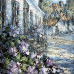 Digitalt Grafisk Arbeid av kunstner Fritz Helge Nyegaard - tittel: Magnolia på Fredriksvern verft