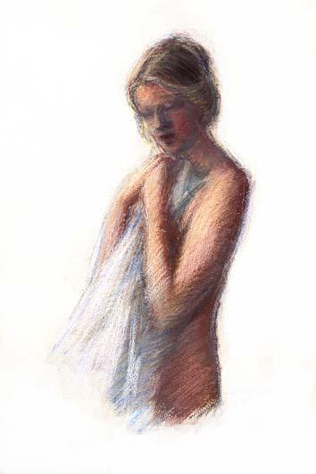 Digitalt Grafisk Arbeid av kunstner Fritz Helge Nyegaard - tittel: Ung pike